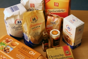 German Baking Ingredients