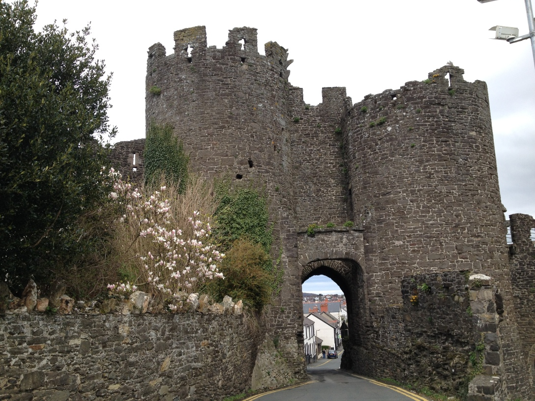 Wandering through Conwy
