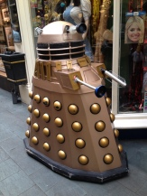 Dalek invading the arcade