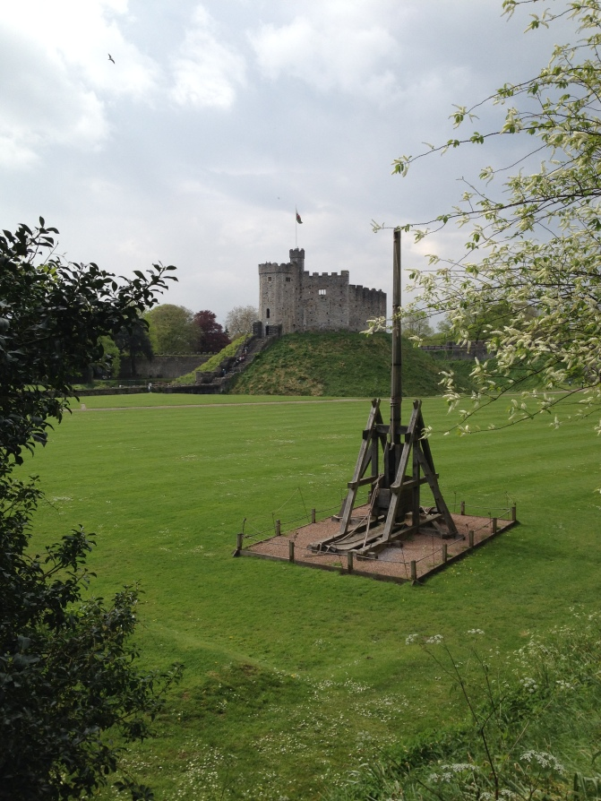 Trebuchet at Cardiff Castle
