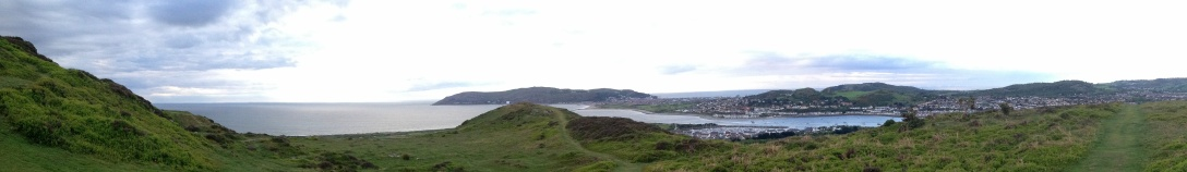 Conwy Mountain - Conwy Bay