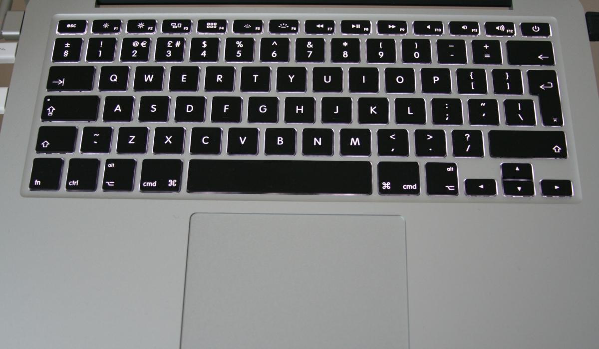 Britische Tastatur