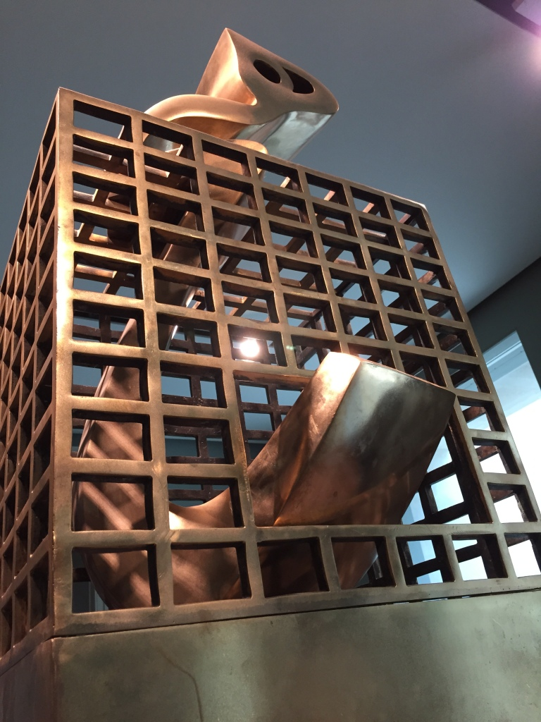 Heech in a Cage, Parviz Tanavoli