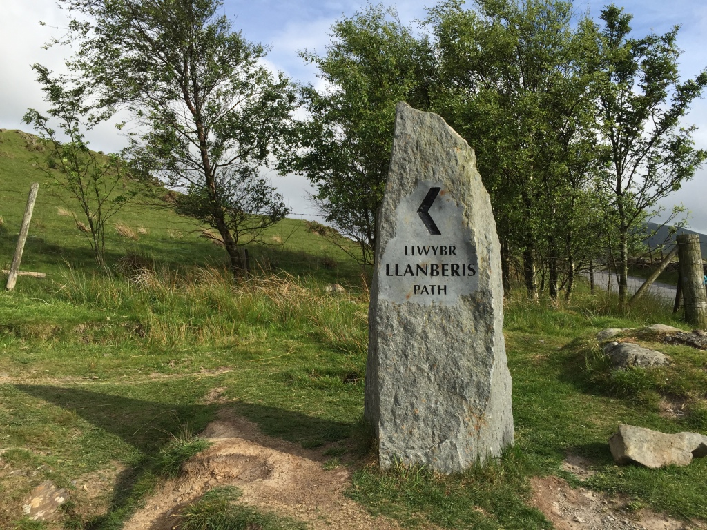 Llanberis Path Marker
