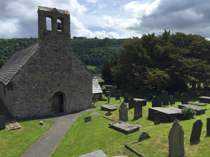 The church and churchyard (only part of the land the fort covered)